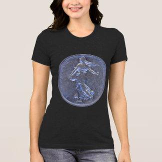 Camiseta T-shirt com as fotos dos francos franceses 1962 de