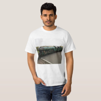 Camiseta T-shirt com imagem do trem do vapor
