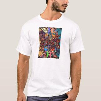 Camiseta T-shirt com impressão celta