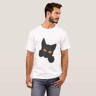 Camiseta t-shirt com impressão do gato