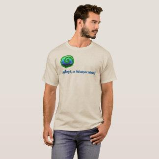Camiseta T-shirt com mensagem da comunidade