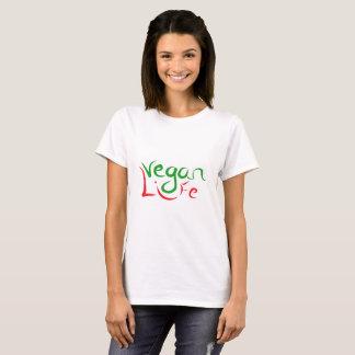 Camiseta t-shirt com mensagem do vegan