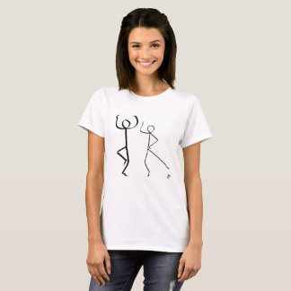 Camiseta T-shirt com os dois dançarinos das montanhas