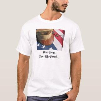 Camiseta T-shirt comemorativo do herói do Memorial Day