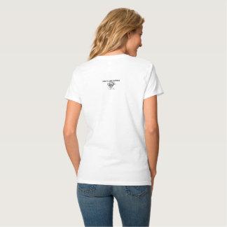 Camiseta T-shirt cómico - somente os peixes inoperantes vão