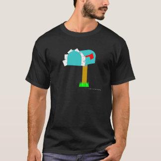Camiseta T-shirt completo da obscuridade da caixa postal