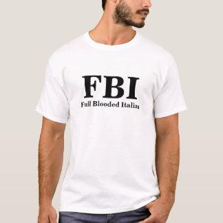 Camiseta T-shirt completo do italiano do FBI Blooded