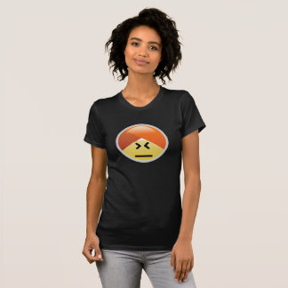 Camiseta T-shirt confuso de Emoji do turbante de Guru da