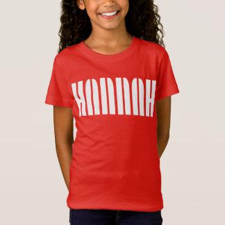 Camiseta T-shirt conhecido de Hannah