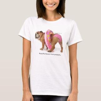 Camiseta T-shirt cor-de-rosa do biquini do ponto de Zelda
