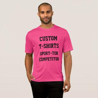 Camiseta T-SHIRT COR-DE-ROSA do SPORT-TEK dos homens