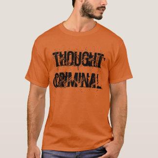"Camiseta T-shirt ""criminoso"" pensado"