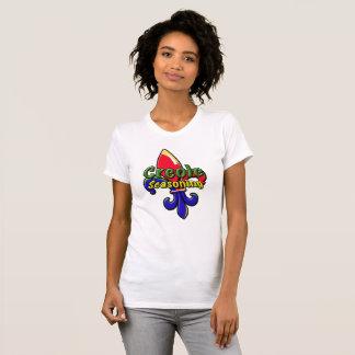 Camiseta T-shirt crioulo do tempero