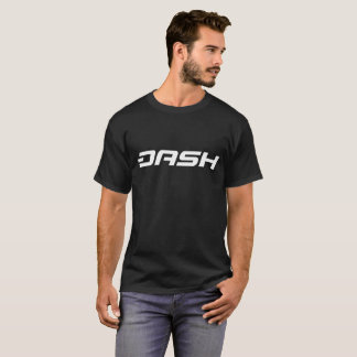 Camiseta T-shirt cripto da moeda da moeda do TRAÇO