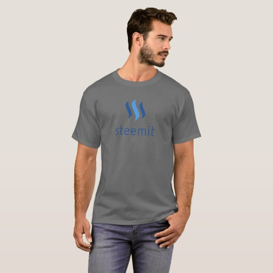 Camiseta T-shirt cripto de Steemit (STEEM)