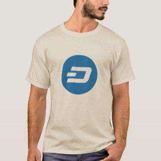 Camiseta T-shirt cripto do logotipo do TRAÇO