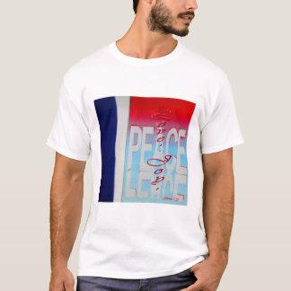 Camiseta T-shirt cristão, azul branco vermelho patriótico