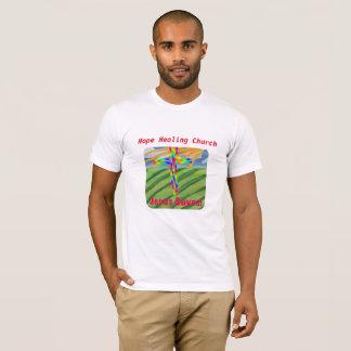 Camiseta T-shirt cristão da fazenda da igreja cura da