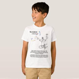 Camiseta T-shirt cristão da profecia da Escorpião (miúdos)
