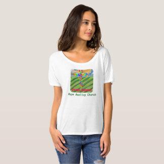 Camiseta T-shirt cristão de Bella da igreja cura da