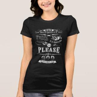 Camiseta T-shirt cristão de Jesus da bíblia da religião do