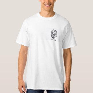 Camiseta T-shirt cristão do branco do desgaste
