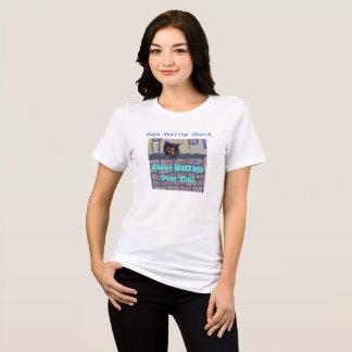 Camiseta T-shirt cristão do gato de Jesus da igreja cura da
