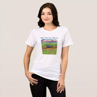 Camiseta T-shirt cristão do trem de Jesus da igreja cura da