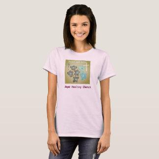 Camiseta T-shirt cura do cristão do amor da paz da igreja