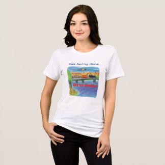 Camiseta T-shirt cura do cristão do trem de Jesus da igreja
