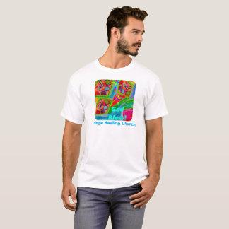 Camiseta T-shirt cura do cristão dos deus abençoe da igreja