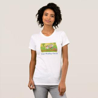 Camiseta T-shirt cura do Iowa das mulheres cristãs da