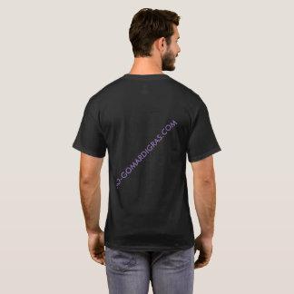 Camiseta T-shirt curto da WEB do CARNAVAL de SleeveBLACK