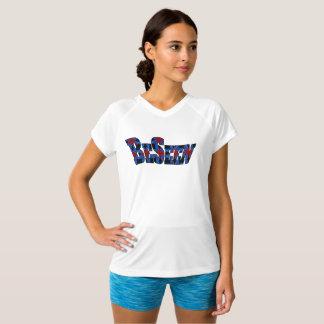 Camiseta T-shirt curto do desempenho seco do dobro do