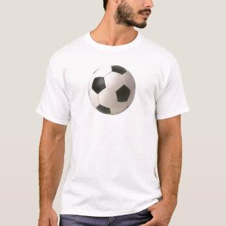 Camiseta T-shirt customizáveis da bola de futebol