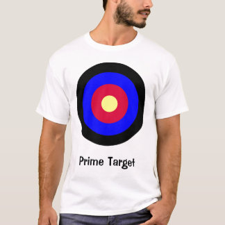 Camiseta T-shirt customizável 2 do Bullseye do alvo tomado