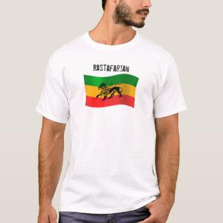 Camiseta T-shirt CUSTOMIZÁVEL da bandeira de Rasta