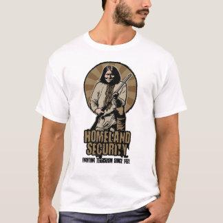 Camiseta T-shirt customizável da segurança interna