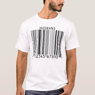 Camiseta T-shirt customizável do código de barras