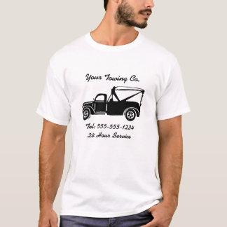 Camiseta T-shirt customizável do reboque