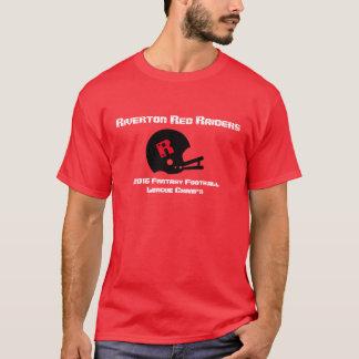 Camiseta T-shirt customizável dos campeões do futebol da