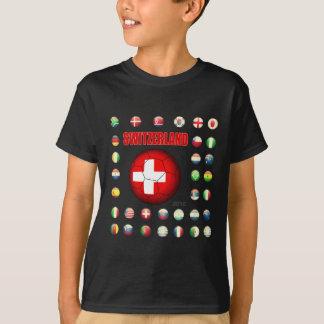 Camiseta T-shirt d7 da suiça