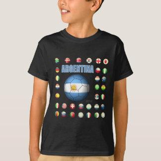 Camiseta T-shirt D7 de Argentina