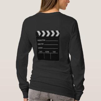 Camiseta T-shirt da ação da câmera das luzes