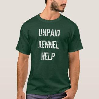 """Camiseta """"T-shirt da ajuda por pagar do canil"""""""