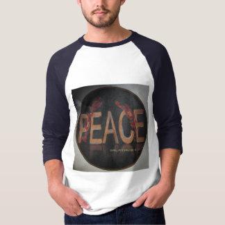 """Camiseta T-shirt da """"alegria de Chrisian do amor paz """""""