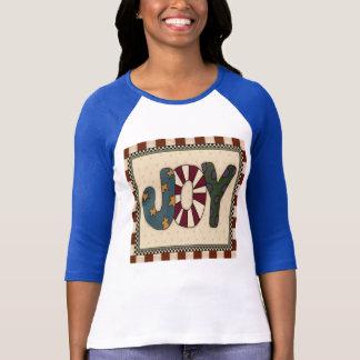 Camiseta T-shirt da alegria do Natal