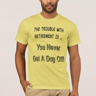 Camiseta T-shirt da aposentadoria do dia dos pais