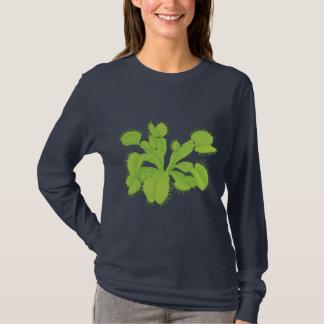 Camiseta T-shirt da armadilha da mosca de Venus