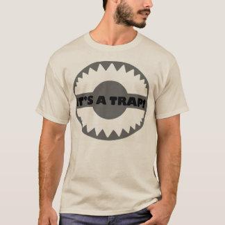 """Camiseta T-shirt da armadilha de EDM """"é UMA ARMADILHA!"""" -"""